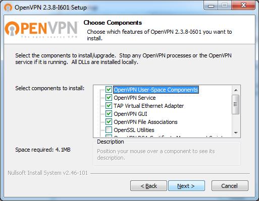 Instalação OpenVPN